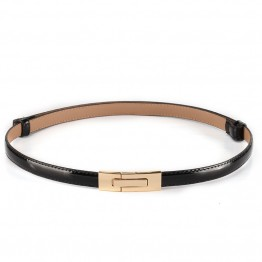 100% Genuine Leather Pin Buckle Belt
