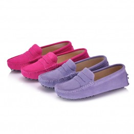 100% Genuine Leather Flat Shoes
