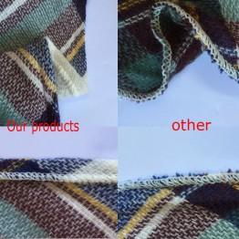 Designer Cashmere Triangle Scarf