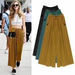 Casual Loose Harem Wide Leg Pants