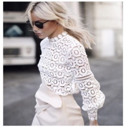 Beautiful Flower Lace Blouse