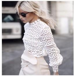 Beautiful Flower Lace Blouse