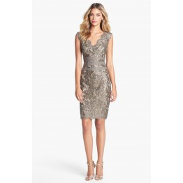 Charming Short Lace Cocktail Dress
