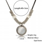 Classic Necklace & Pendant Opal Fashion Statement