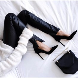 Elegant Pointed Toe High Heel Pumps