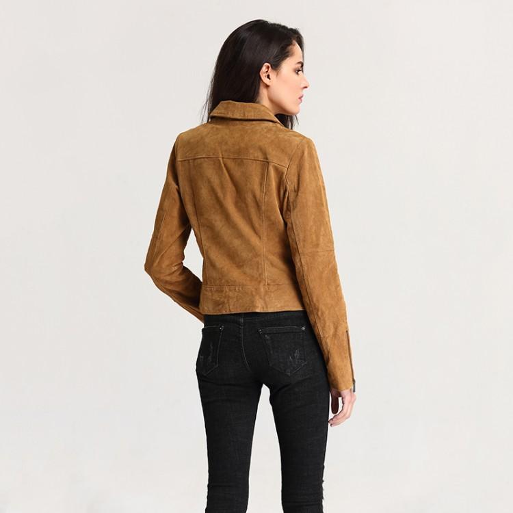 Pigskin leather jacket