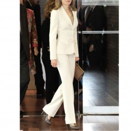 Stunning Ladies Tuxedo Jacket and Pants Suit
