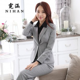 Classic Fitted Dress Suit