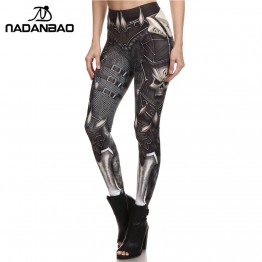 BARBARIAN Skull Women Leggings