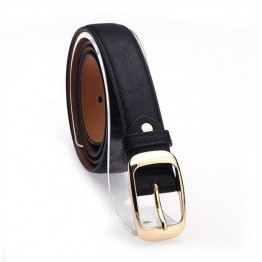Designer Faux Leather Metal Buckle Straps