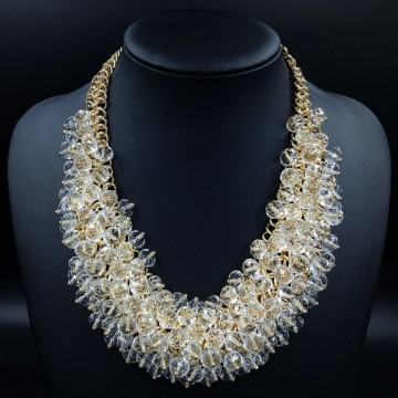 Luxurious Crystal Geometry Choker Necklace - 32230254317