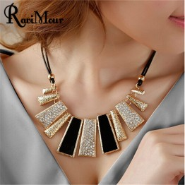Designer Rope Resin Choker