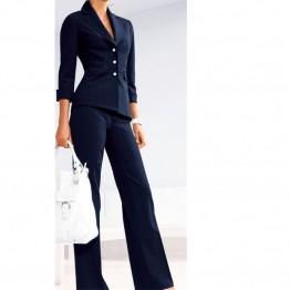 Custom Made Notch Lapel Tuxedo Jacket and Pants Suit